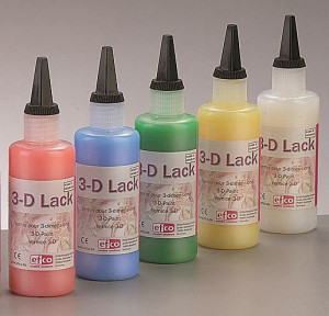 3-D Lack 100 ml, farblos transparent