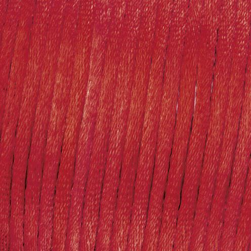 Flechtkordel Satin, 2 mm, 50 m, bordeaux